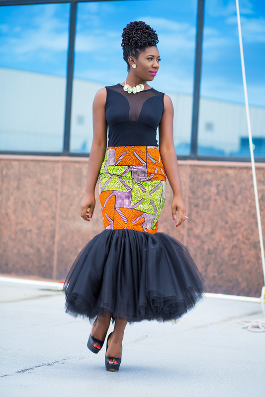 Prissyville African Tutu Skirt 3