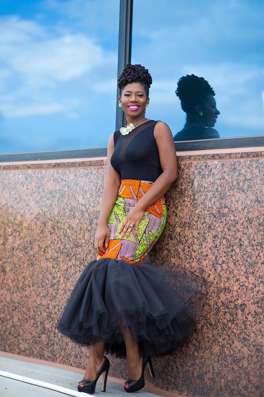 Prissyville African Tutu Skirt 4