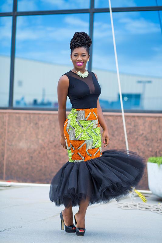 Prissyville African Tutu Skirt 6