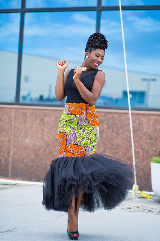 Prissyville African Tutu Skirt 8