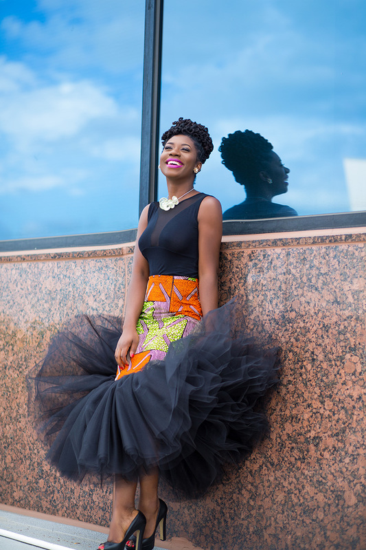 Prissyville African Tutu Skirt 9
