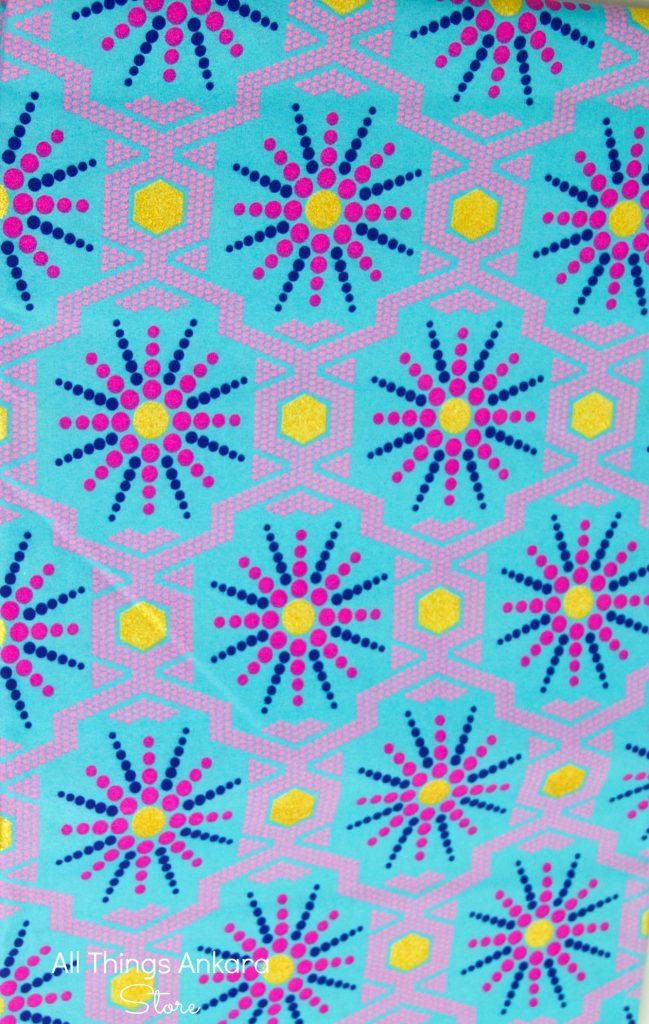 Teal-Fuschia-Blue-Gold-Glitter-Shining-Wax-Prints-by-APTX