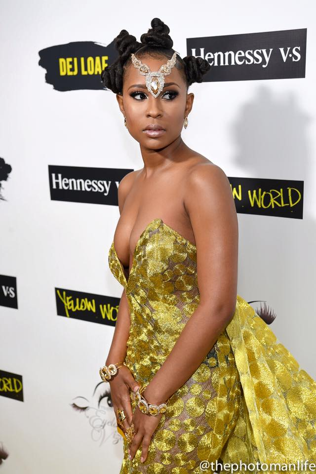 Birthday Party: Dej Loaf Wears Custom Nicci Hou Suit for ...