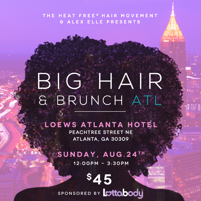 Heat Free Hair Brunch