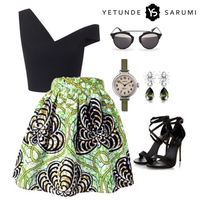 Style Board Yetunde Sarumi's Waju Skirt 1