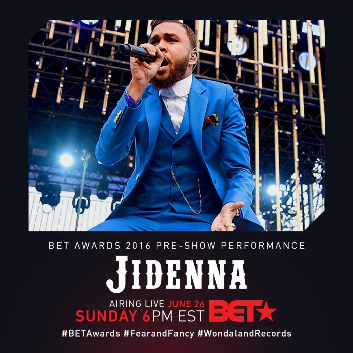 Award Show- Jidenna and Janelle Monae's BET Awards 2016 Pre- Show Performance 1