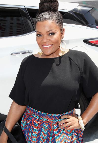 Award Show-Yvette Nicole Brown on the BET Awards 2016 Red Carpet 2