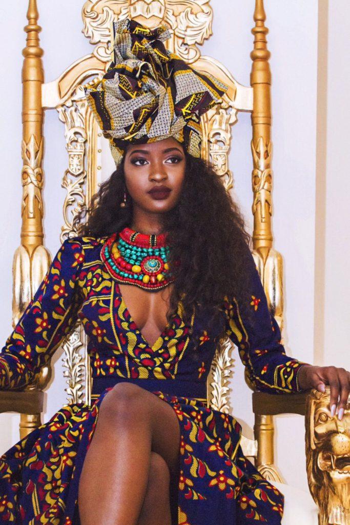 Sira Kante for Queen E Collection 2016