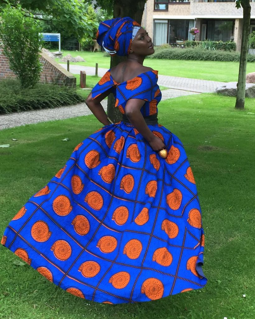 Ankara Photo of The Day-Lady Africa