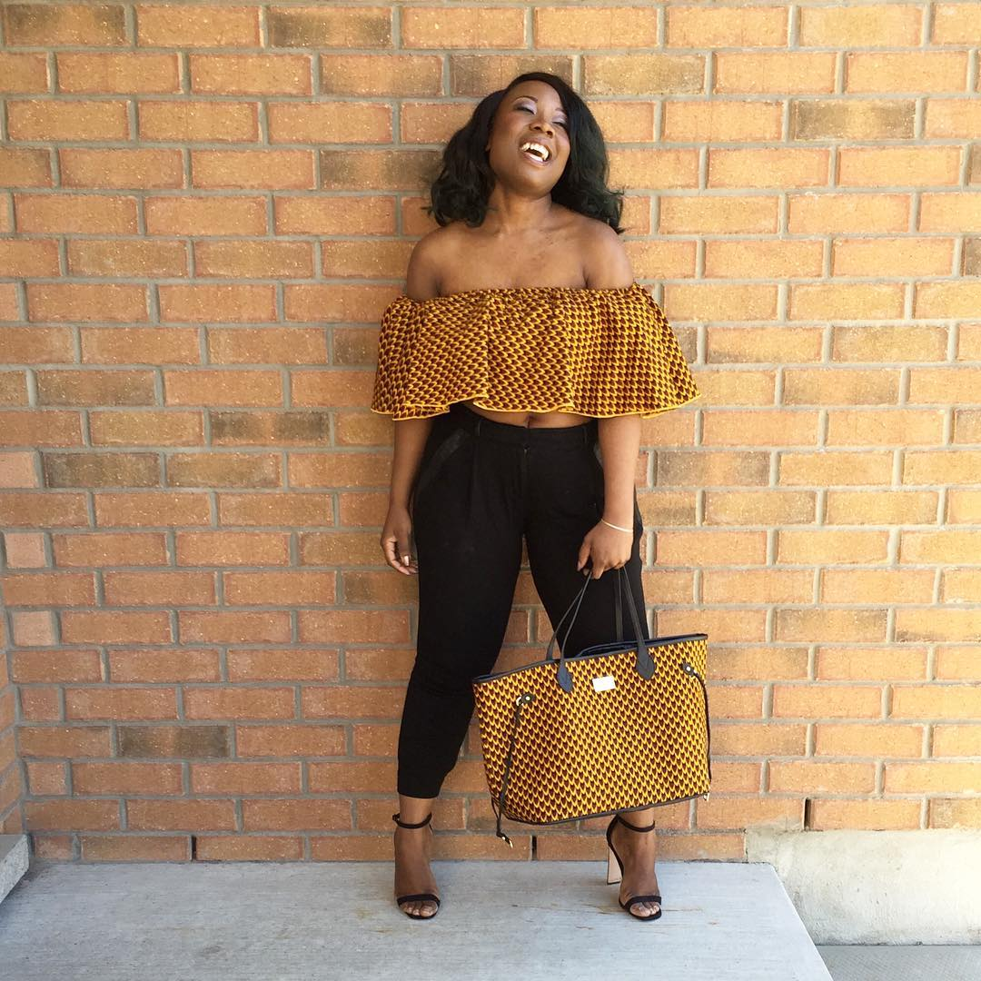 Ankara Street Style of The Day-Brenda C of Can Never Be A Skinny Bish 1