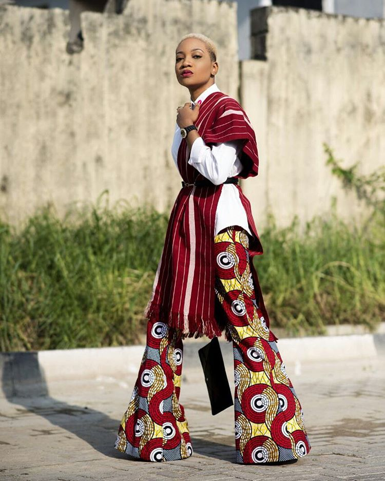 Ankara Street Style of The Day-Jennifer Oseh 1
