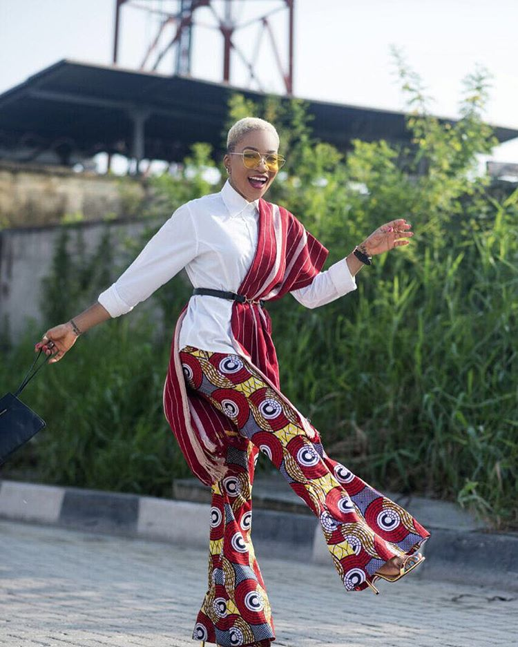 Ankara Street Style of The Day-Jennifer Oseh 2