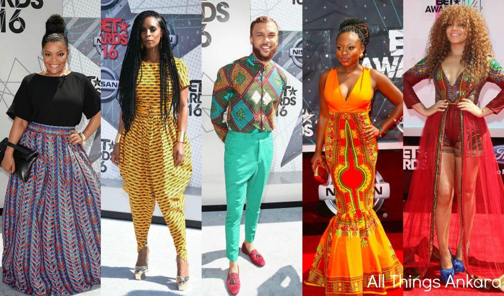 Award Show: Celebrities in Ankara Print Fashion on the BET Awards ...