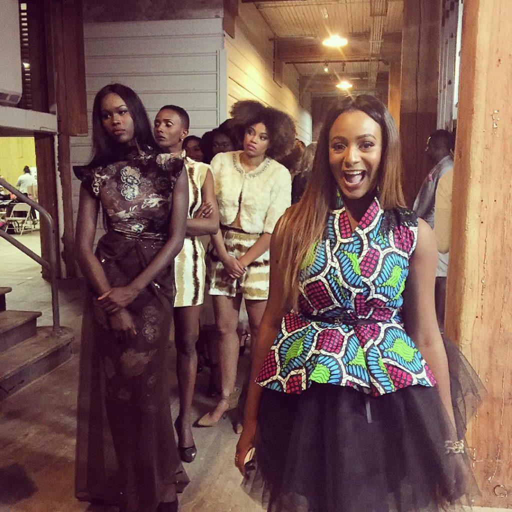 Fashion Week-DJ Cuppy Host Africa Fashion Week Chicago 2015 2