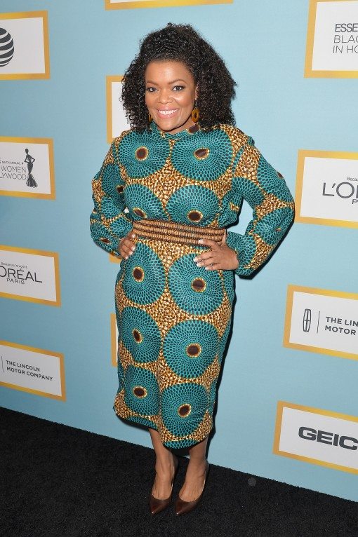 Luncheon-Yvette Nicole Brown's Leap of Style Dress for Essence's 9th Annual Black Women In Hollywood Luncheon 2016 1