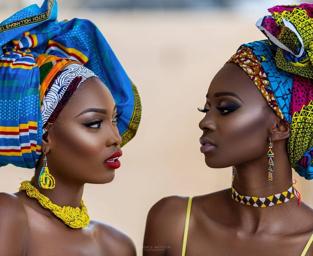 Editorial-%22African Queens%22 Adesola Adeyemi and Chinelo for Prince Meyson 1
