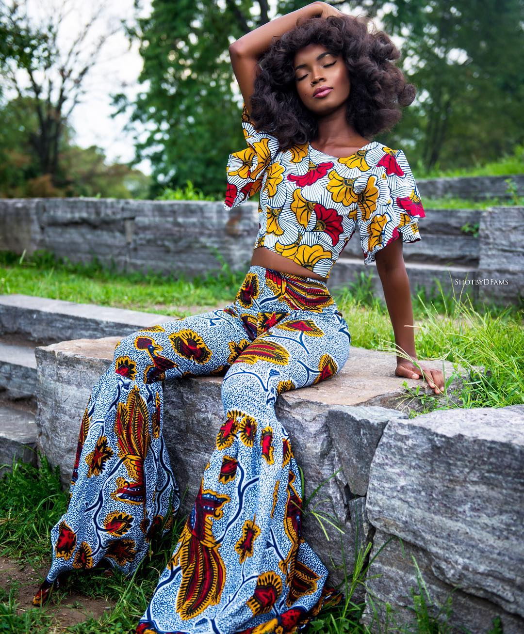 Editorial-Blissfull Queen for Omooba Fashions by Dfams 1