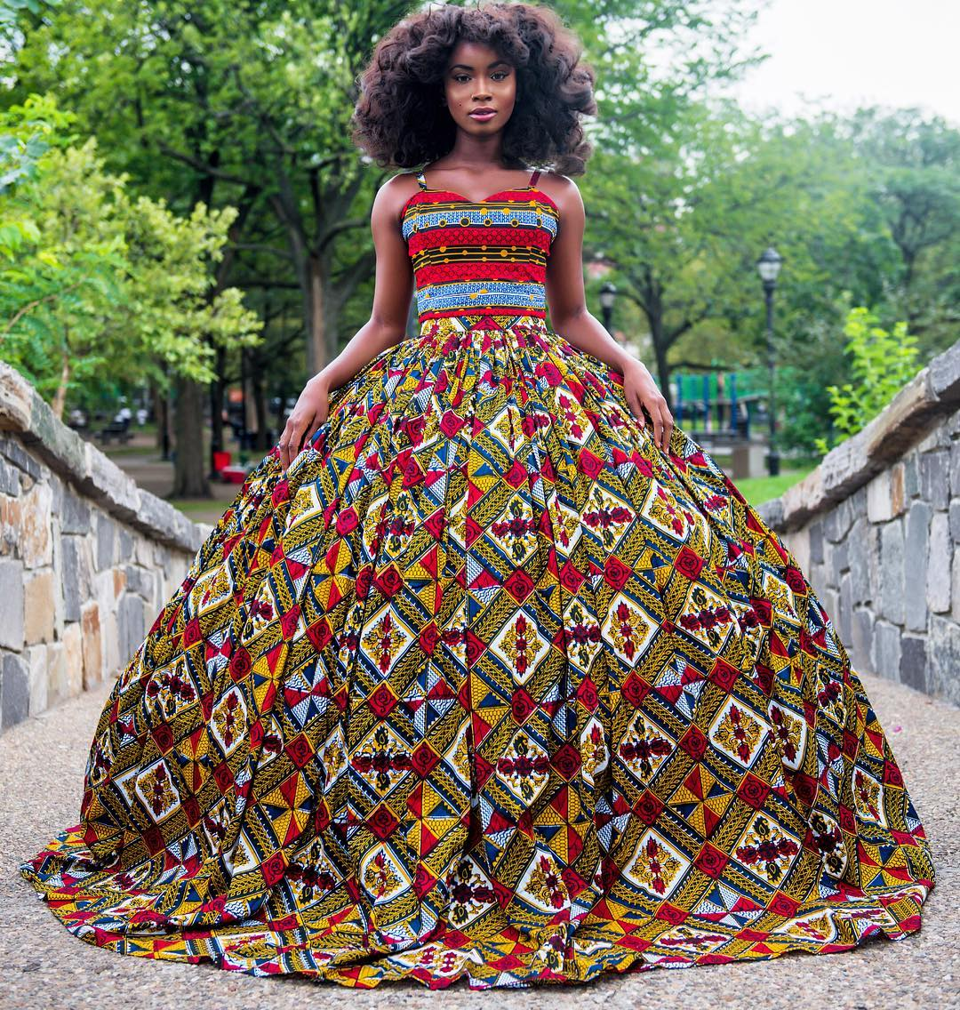 Editorial-Blissfull Queen for Omooba Fashions by Dfams 4