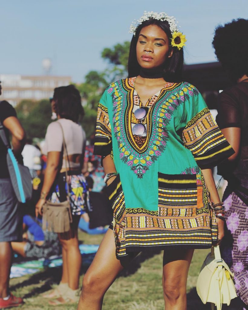 Afro Punk Fashion: Festival: Ankara Street Style At AFROPUNK FEST Brooklyn 2016