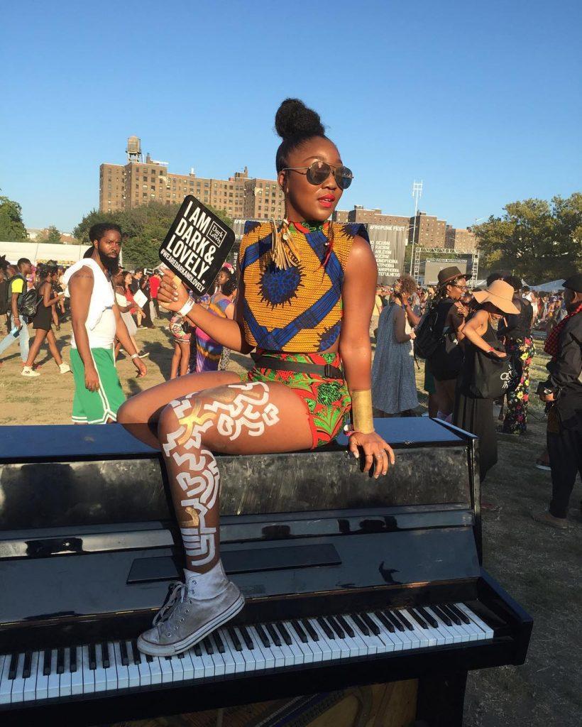 Festival-Ankara Street Style at AFROPUNK FEST Brooklyn 2016 15