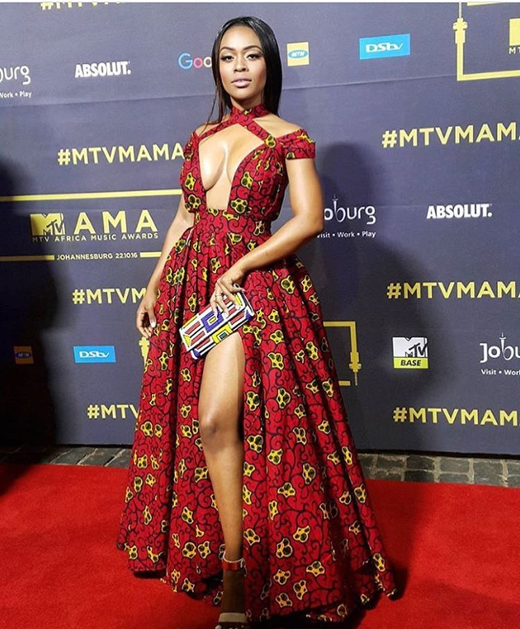 ankara-photo-of-the-day-nomzamo-mbatha-in-custom-rich-factory-gown-at-the-mtv-africa-music-awards-2016