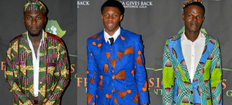 Gala-All Things Ankara's Best Dressed Men at Africa Gives Back International Gala 2016