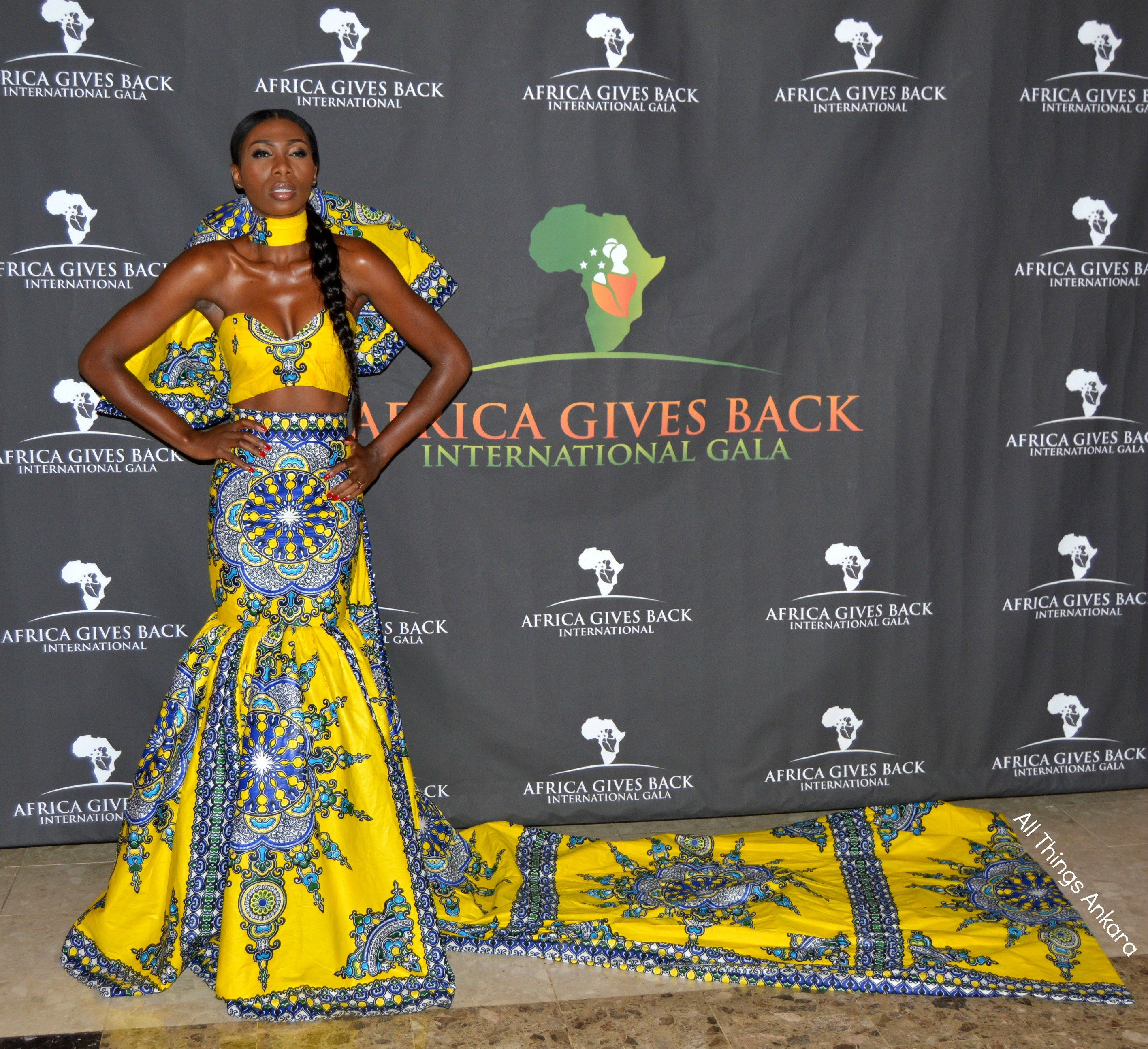 Gala-All Things Ankara's Best Dressed Women at Africa Gives Back International Gala 2016 16