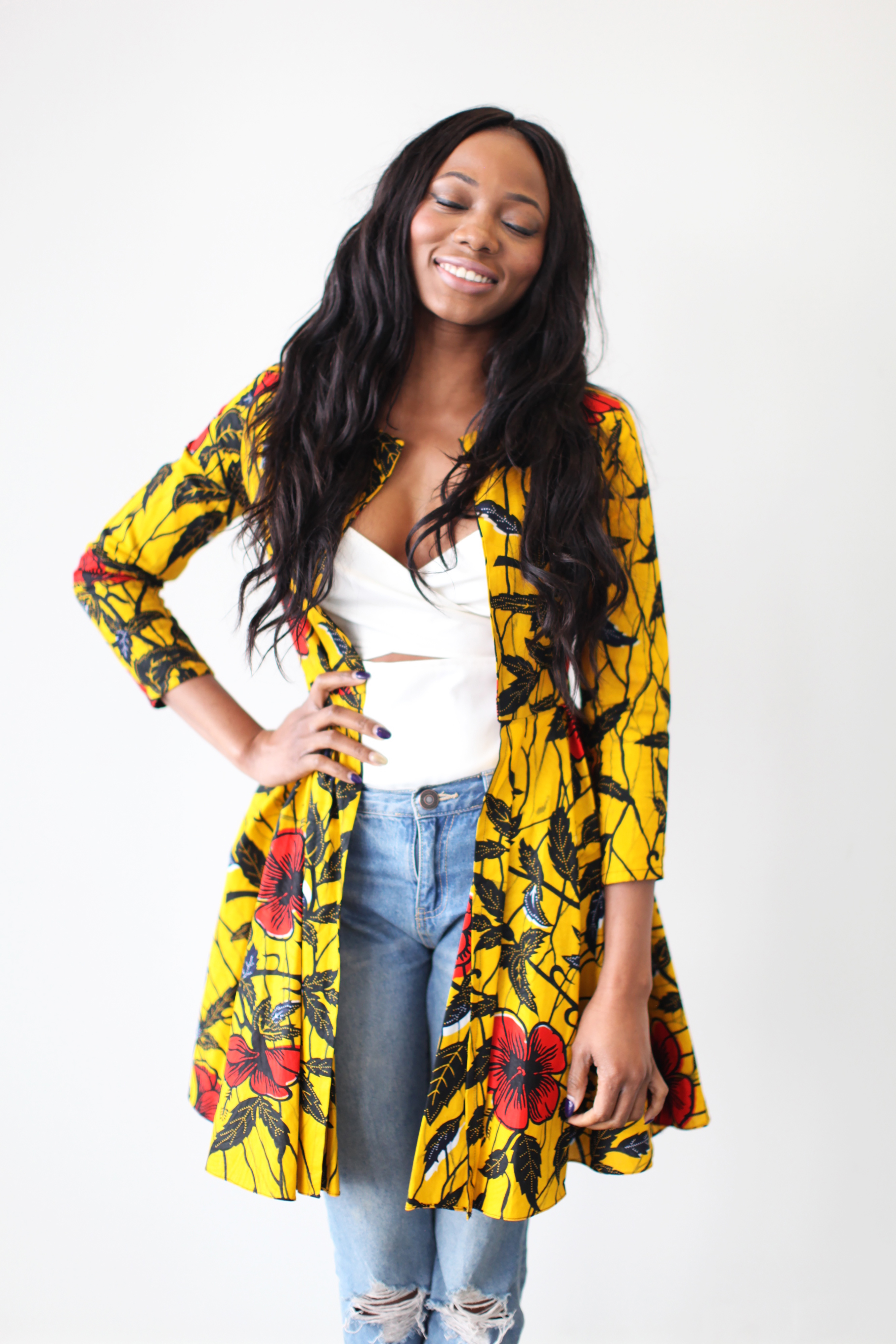 ankara-product-of-the-day-omi-woodss-the-nairobi-ankara-jacket-dress-in-golden-hibiscus-3