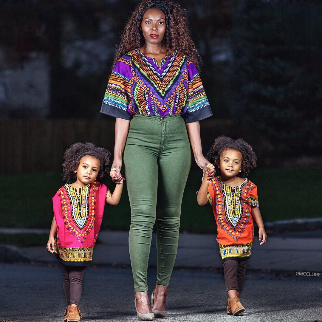 Ankara Photo of the Day: Aminat McClure & The McClure Twins