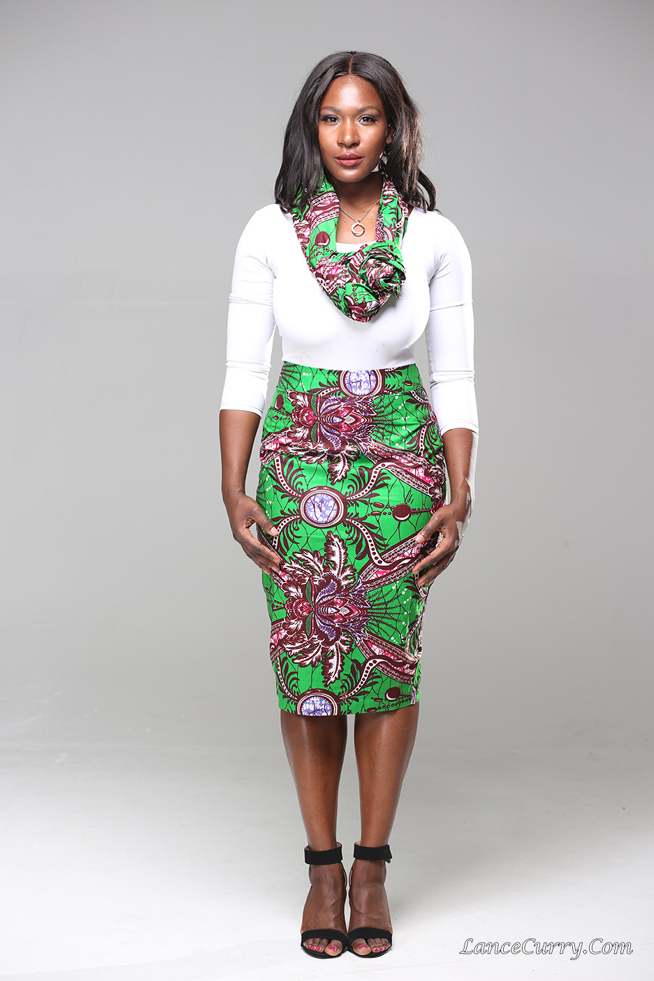 Ankara Product of the Day: Penelope Pencil Skirt by Ankara ...
