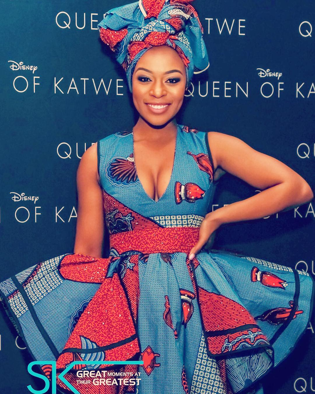 Movie Premiere Nomzamo Mbatha At The Queen Of Katwe South