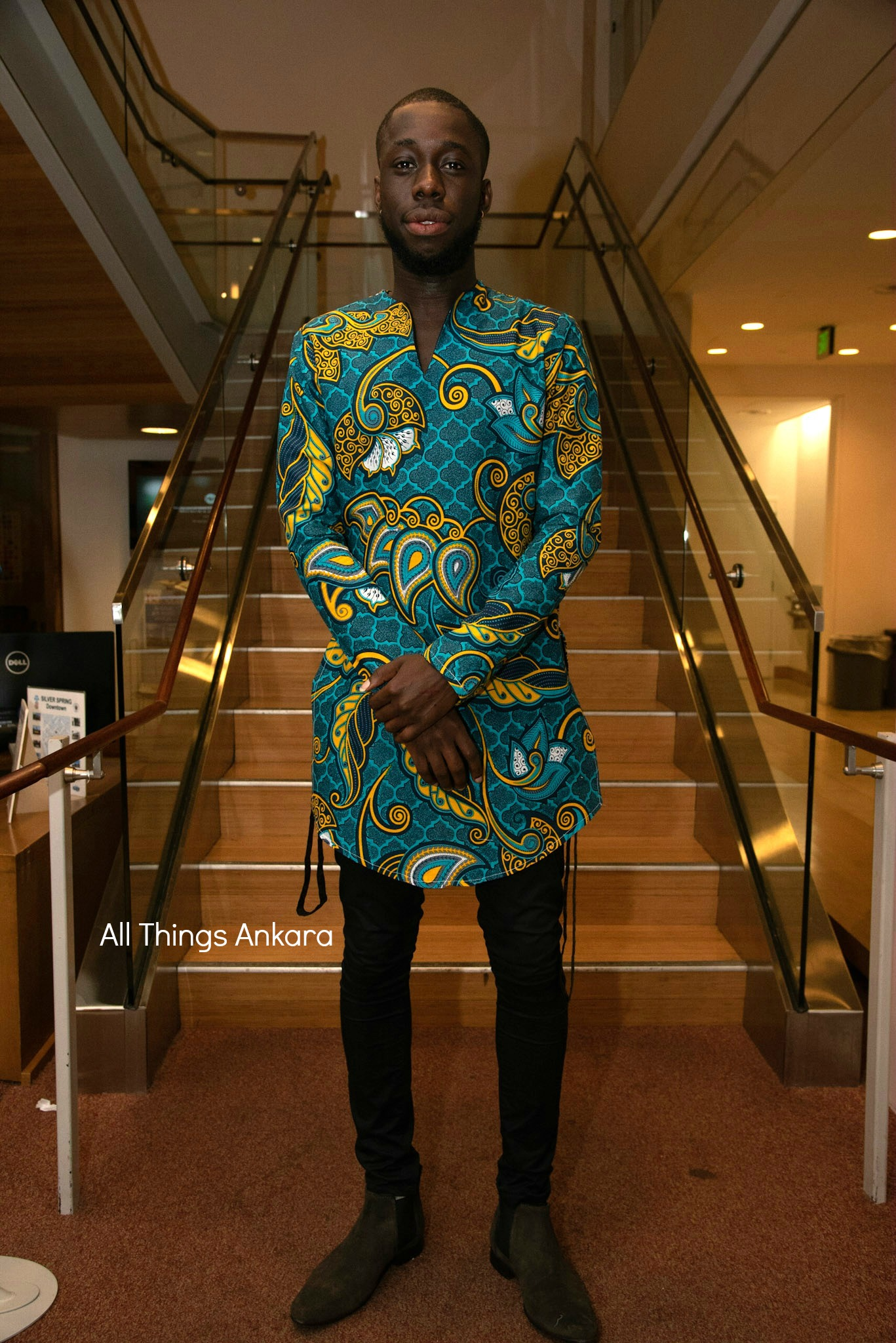 Gala All Things Ankara's Best Dressed Men at Africa Gives Back International Gala 2018 2