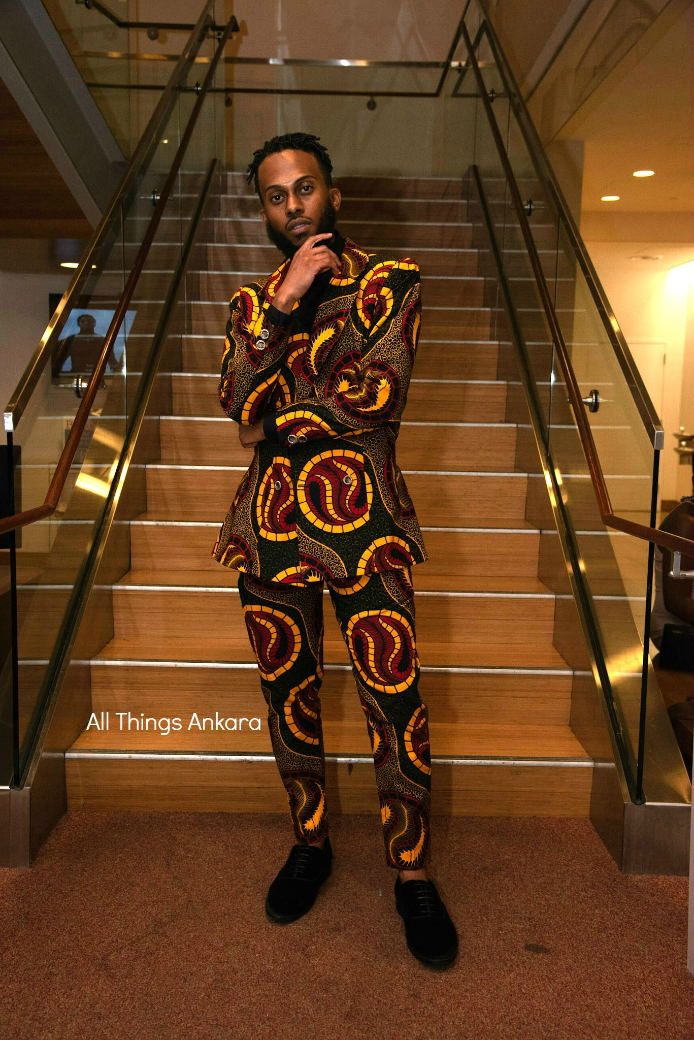 Gala All Things Ankara's Best Dressed Men at Africa Gives Back International Gala 2018 8