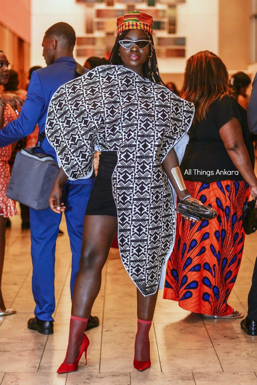 Gala All Things Ankara's Best Dressed Women at Africa Gives Back International Gala 2018 1