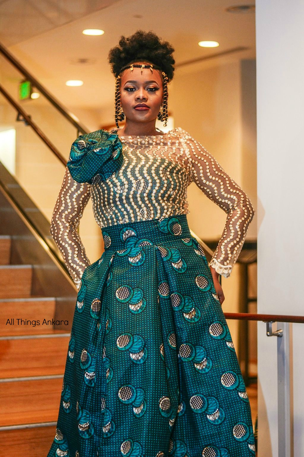 Gala All Things Ankara's Best Dressed Women at Africa Gives Back International Gala 2018 10