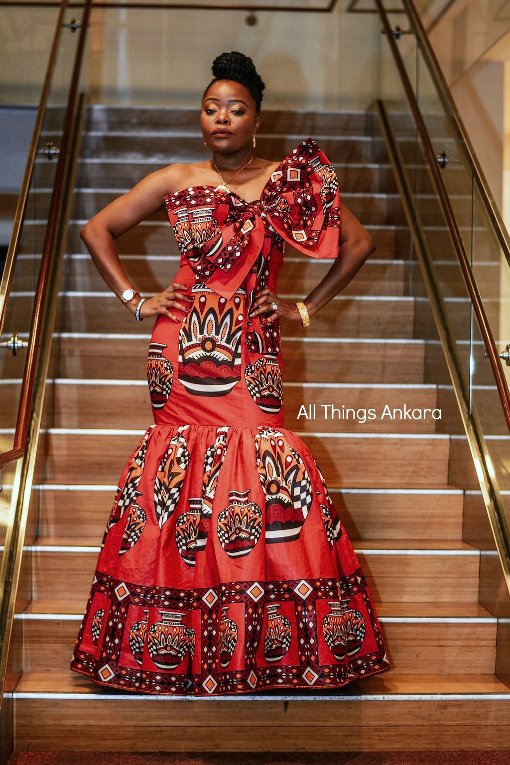 Gala All Things Ankara's Best Dressed Women at Africa Gives Back International Gala 2018 19