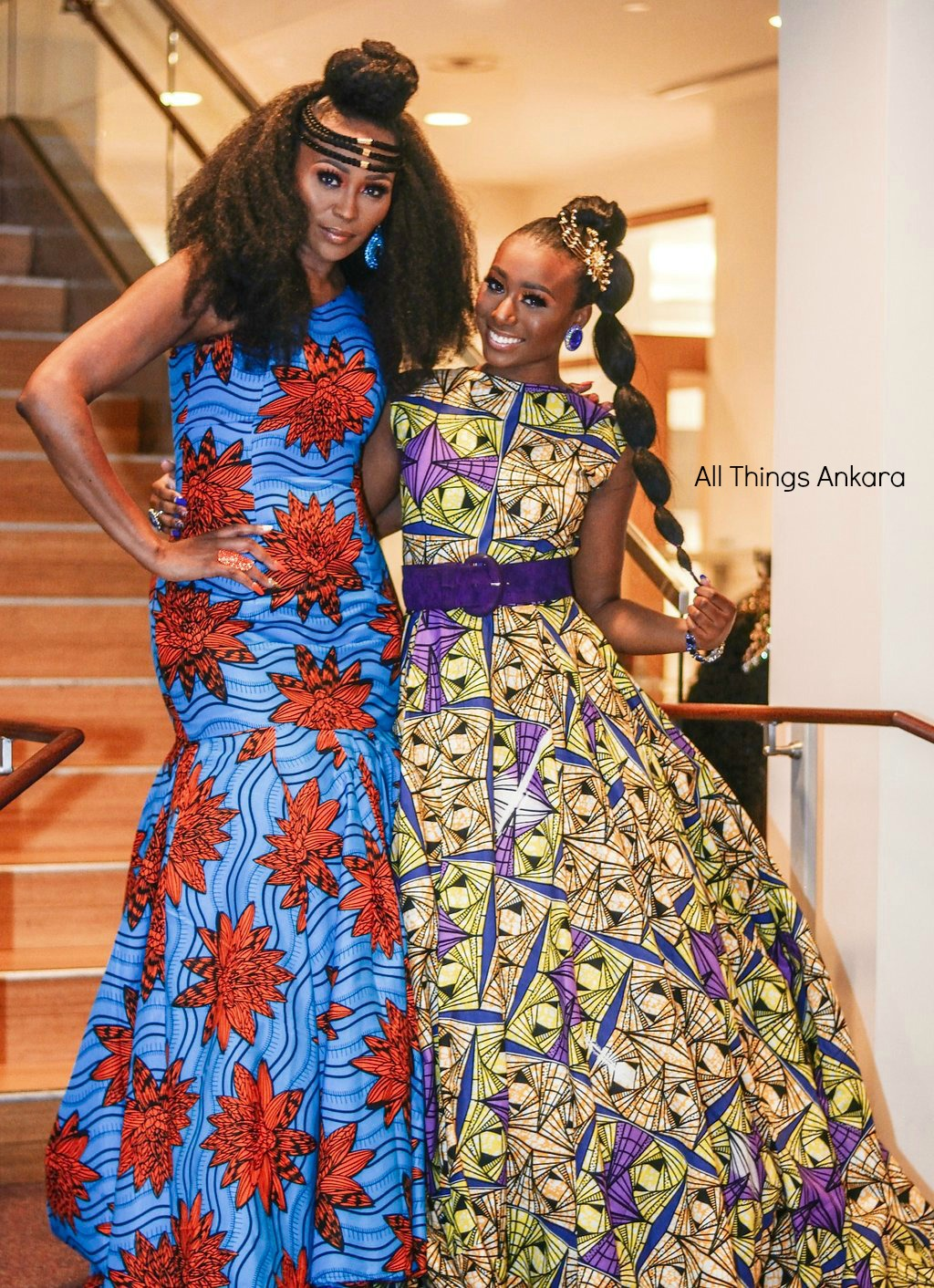 Gala All Things Ankara's Best Dressed Women at Africa Gives Back International Gala 2018 26