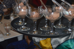 27th Birthday-My Birthday Dinner at 1230 DC in a Nikki Billie Jean Pretty in Pink 2 Piece Suit, Short Sleeve Blazer & Wide Leg Pants 15