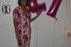 27th Birthday-My Birthday Dinner at 1230 DC in a Nikki Billie Jean Pretty in Pink 2 Piece Suit, Short Sleeve Blazer & Wide Leg Pants 25
